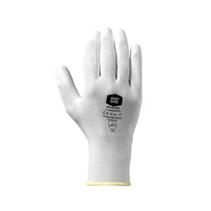 Handschoen Poly Pu Maat 9 Wit 12paar